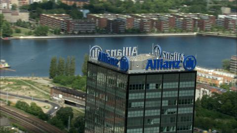 Stock Footage - Allianz / Treptowers