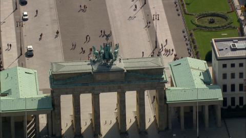 Stock Footage - Brandenburger Tor