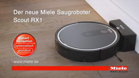 Miele Scout RX1 Robotic Vacuum Cleaner - Nothing escapes