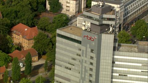 Stock Footage - rbb - Rundfunk Berlin Brandenburg