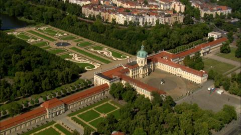 Stock Footage - Schloss Charlottenburg
