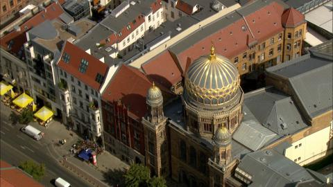 Stock Footage - Synagoge Oranienburger Straße
